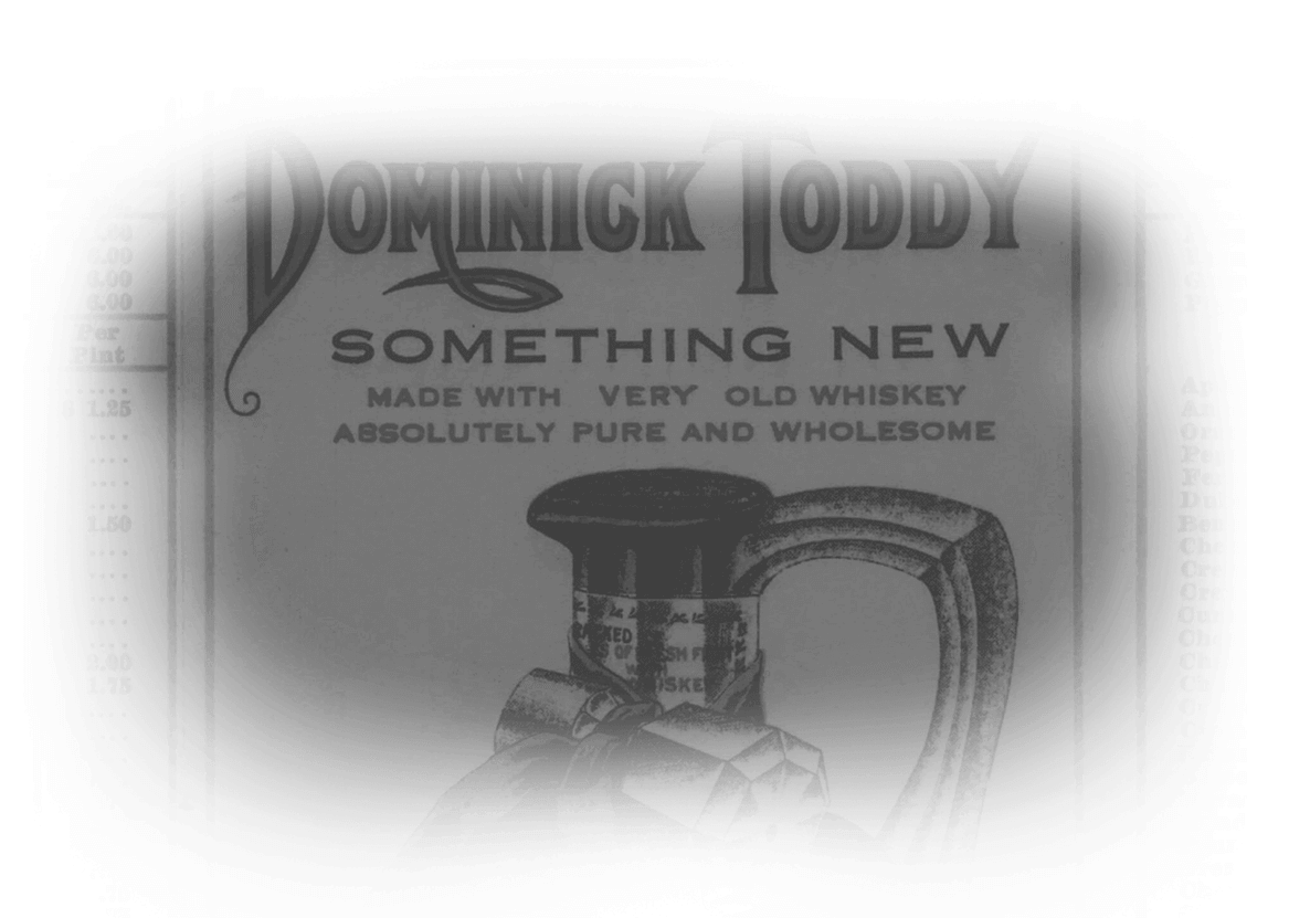 Vintage Dominick Toddy poster