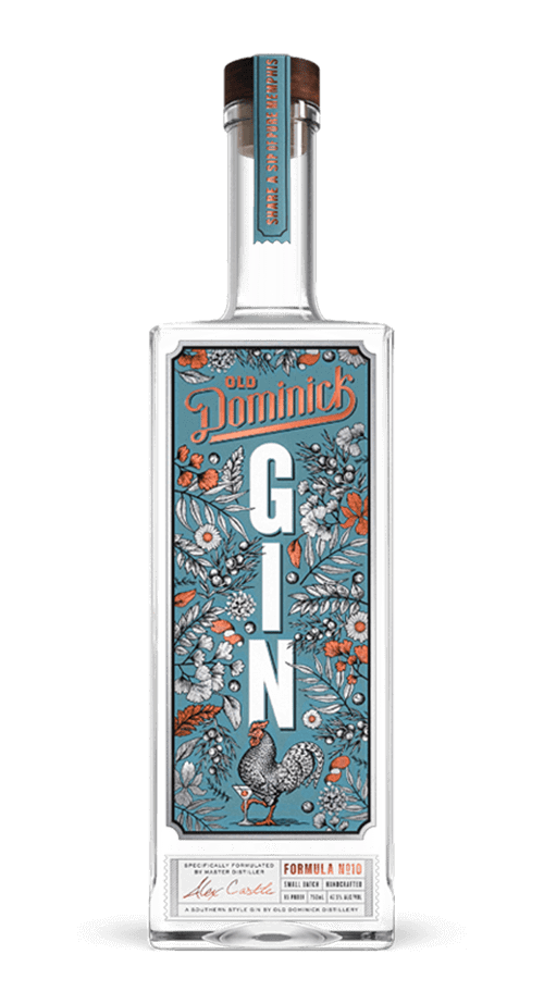 Formula Number 10 Gin bottle