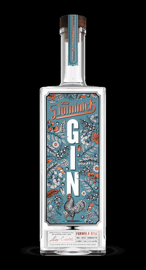 Formula Number 10 Gin bottle