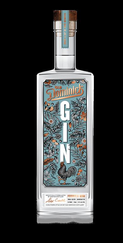 Formula 10 Gin bottle