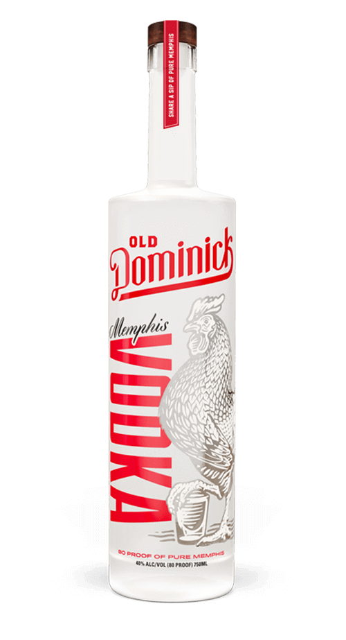 Memphis Vodka Bottle