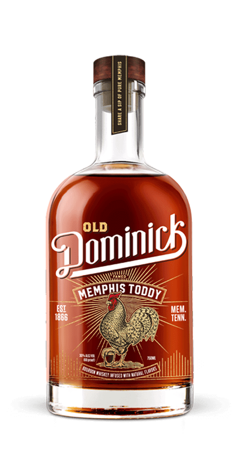 Old Dominick Memphis Toddy bottle