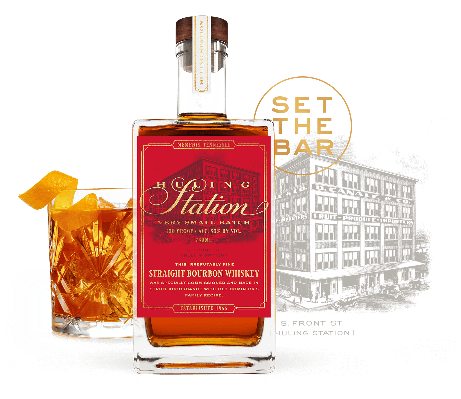 Huling Station Straight Bourbon